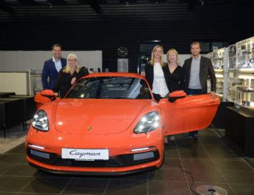 Get-together im Porsche Zentrum München Süd