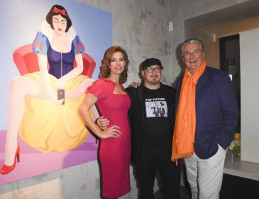 """VIP Eröffnung der Ausstellung """"Fake Reality"""" von Giuseppe Veneziano"""