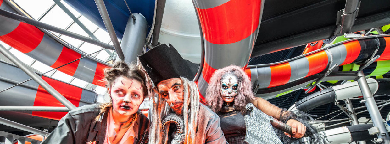 Herbstferien in der Therme Erding mit Halloween-Specials