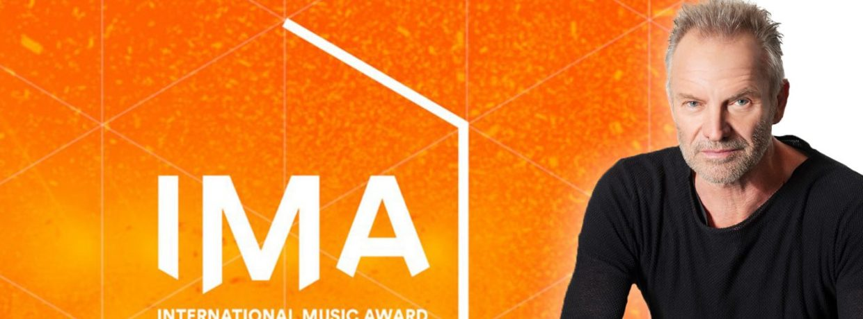 "Sting erhält den INTERNATIONAL MUSIC AWARD (IMA) in der Kategorie ""Hero"""