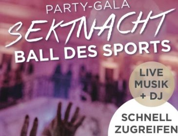 PARTY-GALA Sektnacht Ball des Sports 2020 in Wiesbaden
