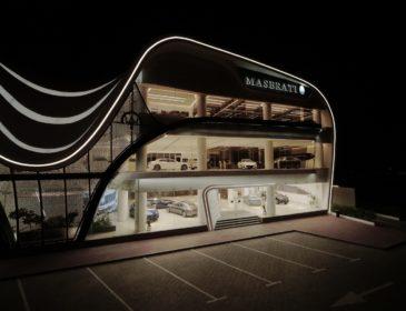 Der größte Maserati Showroom der Welt: In Dubai wurde der neue Hotspot des Dreizacks eröffnet