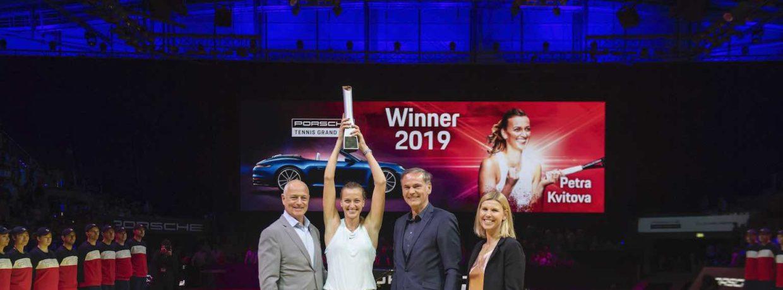 Porsche Tennis Grand Prix zum zehnten Mal beliebtestes Turnier