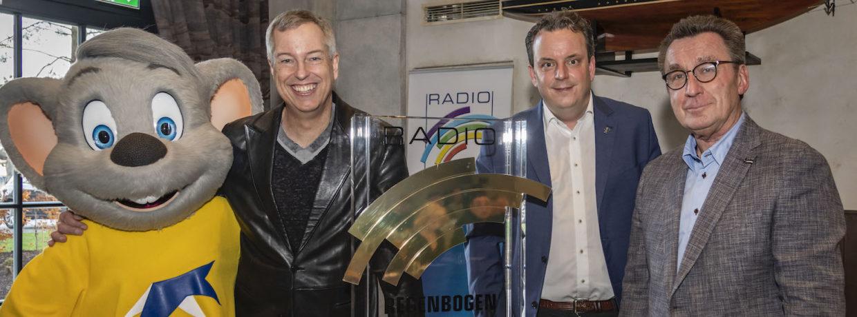 Radio Regenbogen Award für DJ Felix Jaehn, Frank Elstner und Bülent Ceylan