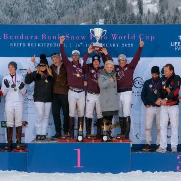 World Polo League gewinnt den 18. Bendura Bank Snow Polo World Cup in Kitzbühel