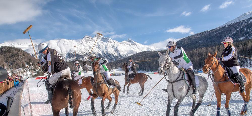 Alles ist bereit für den 36. Snow Polo World Cup St. Moritz