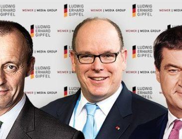 Söder und Merz kommen zum Ludwig-Erhard-Gipfel 2020