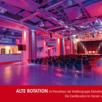 Medienerlebnis beim MPE-Media-Connect  im Pressehaus der Mediengruppe Münchner Merkur / tz