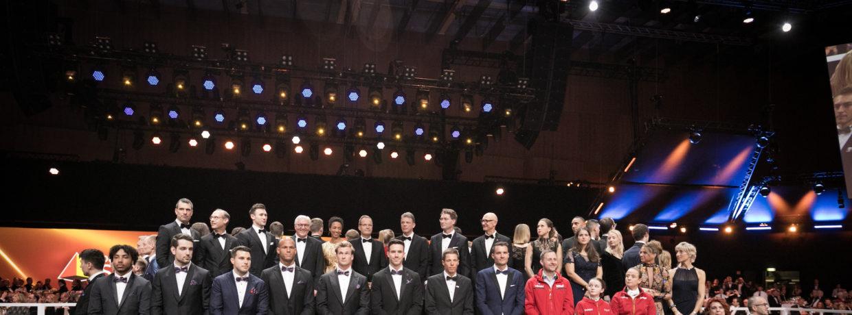 Großes Jubiläum: Das war der 50. Ball des Sports in Wiesbaden