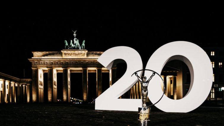 Sharon Stone moderiert die 20. Verleihung der Laureus World Sports Awards