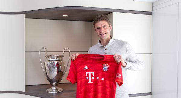 FC Bayern verlängert mit Thomas Müller bis 30. Juni 2023