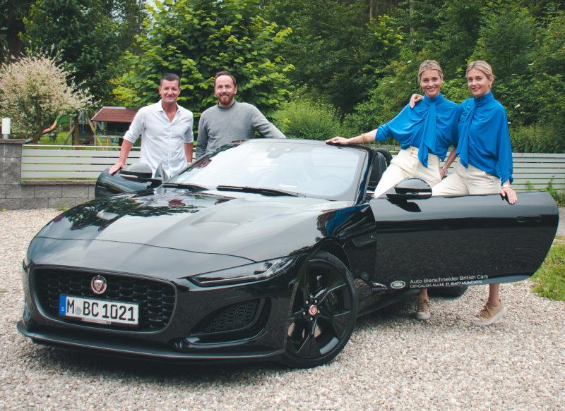 """""""Sports Drive Day"""" mit Nina und Julia Meise im neuen Jaguar F-Type"""