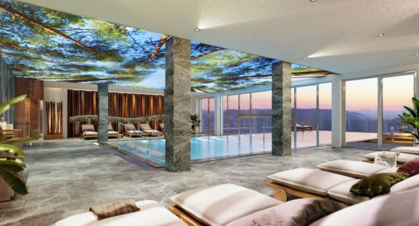 Mountain Wellness Hotel ALMGUT mit herrlichem Infinity Pool