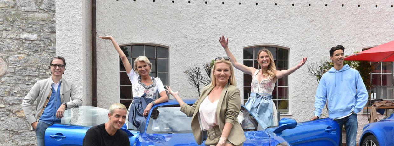 """""""Alpine Cars Driving Day"""" am Tegernsee mit Einkehr in Gut Kaltenbrunn"""