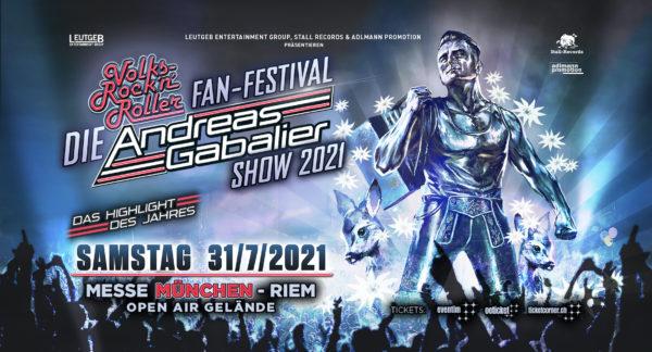 """DIE"" ANDREAS GABALIER SHOW 2021 in München"