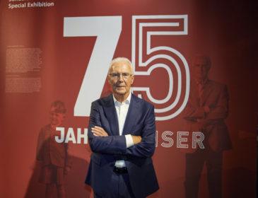 Herzlichen Glückwunsch, Franz Beckenbauer!