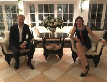 Exquisiter MPE-Launch – im zauberhaften Garten des Hotel Opéra