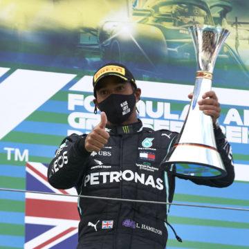 Lewis Hamilton stellt Formel 1-Siegrekord von Michael Schumacher ein