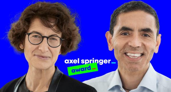 Axel Springer Award 2021 geht an BioNTech-Gründer Özlem Türeci und Uğur Şahin