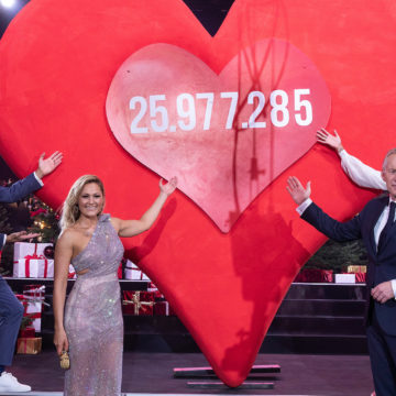 Volltreffer in die Herzen: 25.977.285 Euro bei EIN HERZ FÜR KINDER 2020 für Kinder in Not