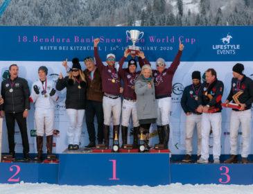 19. BENDURA BANK Snow Polo World Cup verschoben auf Januar 2022