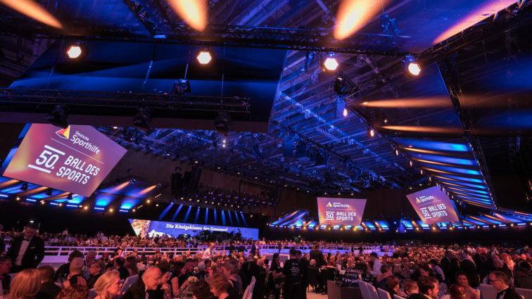 """Deutsche Sporthilfe mit Spendenaktion statt """"Ball des Sports"""""""