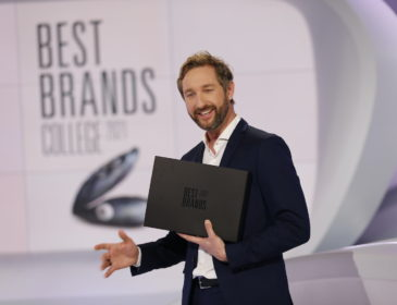 Verleihung der 18. Best Brands Awards in München