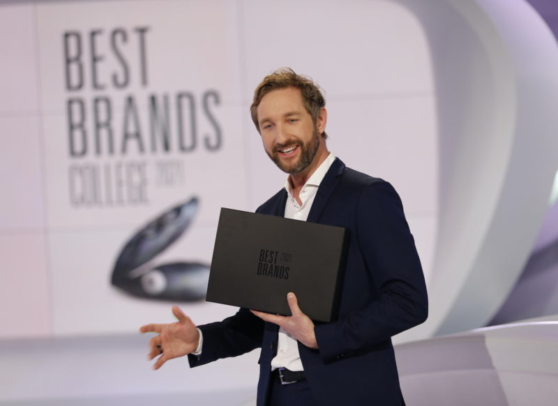 Verleihung der 18. Best Brands Awards in München