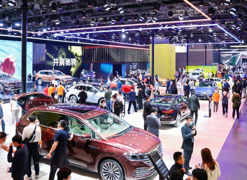 Eine der größten Automobilmessen der Welt: Die Auto Shanghai 2021