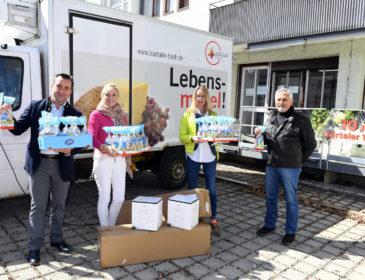Charity-Osteraktion mit Herz – Masken und Osternester für Bedürftige im Münchner Umland