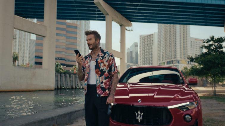 Maserati und David Beckham: Superstar ist neuer Markenbotschafter