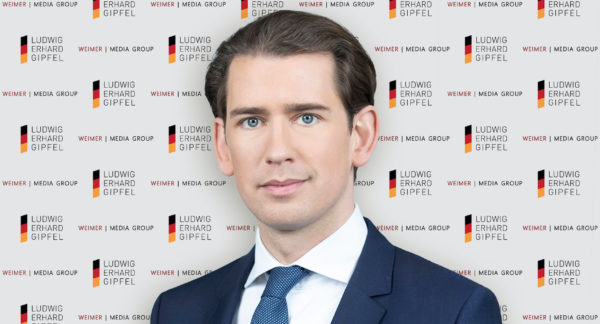 """Sebastian Kurz erhält """"Freiheitspreis der Medien"""""""