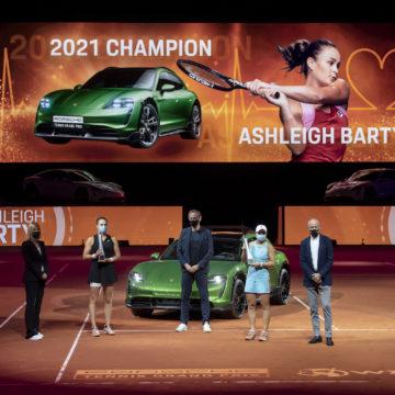 Ashleigh Barty schreibt in Stuttgart Tennis-Geschichte