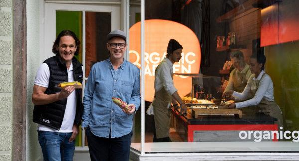 Eröffnung erster Organic Garden-Signature Store mit Holger Stromberg