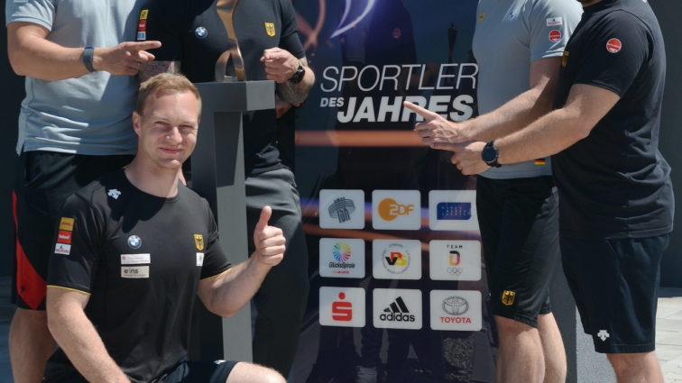 """""""Sportler des Jahres"""" Pokalübergabe an Francesco Friedrich & Team"""