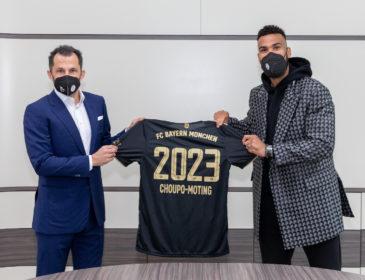 FC Bayern verlängert Vertrag mit Eric Maxim Choupo-Moting bis 2023