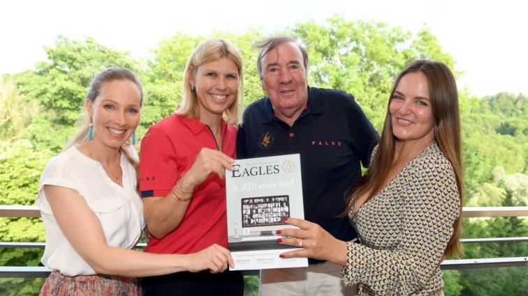 Großes Wiedersehen bei der EAGLES Magazinpräsentation