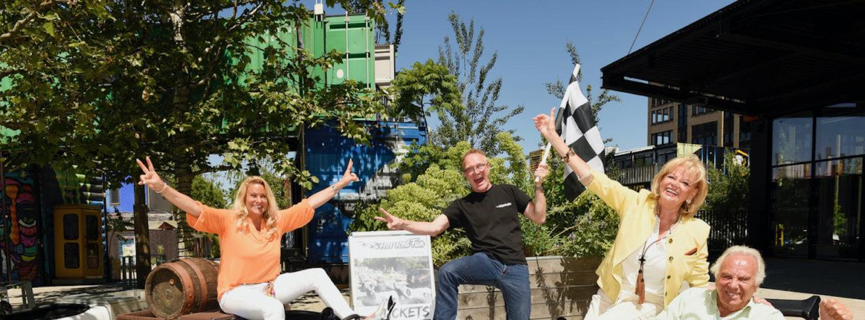 """Mit Vollgas für Stiftung """"s´Münchner Herz"""":Spende von Hot Rod Fun"""