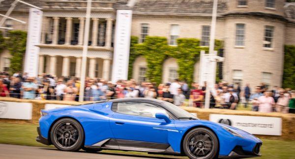 Premiere beim Klassiker: Festival of Speed in Goodwood mit dem Maserati MC20