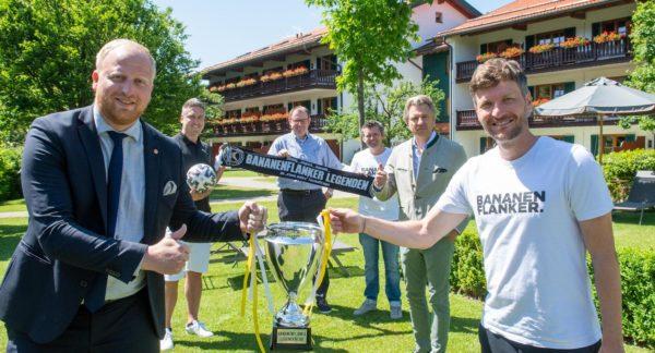 VIP-Charity-Fußballmatch am Tegernsee vom Spa & Resort Bachmair Weissach
