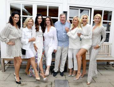 """White Party im Rabenwirt in Pullach – prominente Gäste feiern """"in weiß"""""""