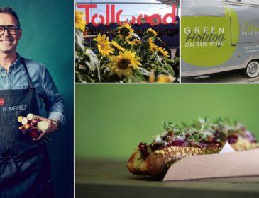 Organic Garden mit eigenem Food Trailer und Green Hotdog auf dem Tollwood Sommerfestival in München
