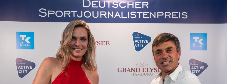 Gala zur Verleihung des renommierten Deutschen Sportjournalistenpreises