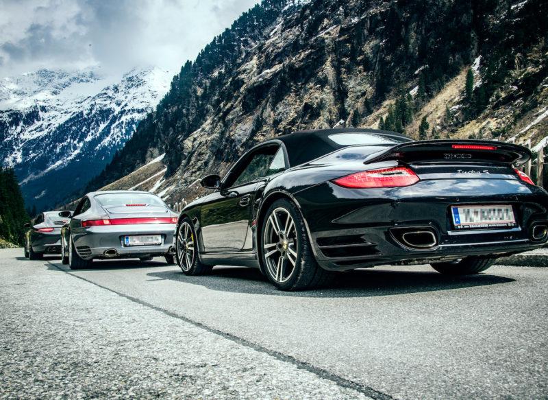 Porsche 911er-Treffen im 5-Sterne SPA-HOTEL Jagdhof*****
