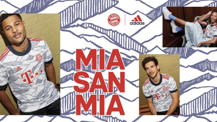 FC Bayern präsentiert Dress für Champions League