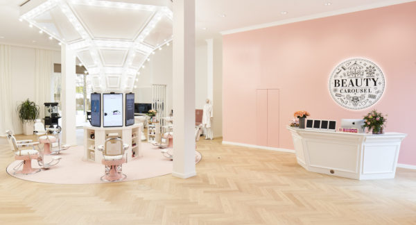Jungfernfahrt im Beauty Carousel München: #strongwoman Beauty Lounge