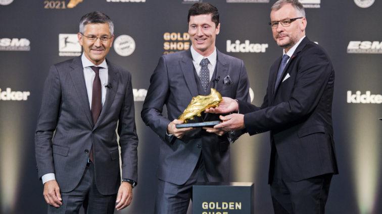 Auszeichnung: Robert Lewandowski erhält Goldenen Schuh