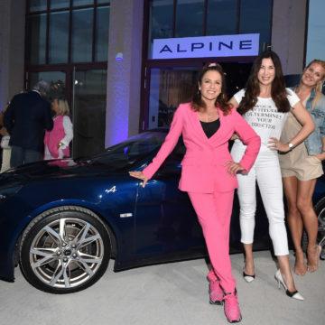 Alpine Showroom Opening in der Motorworld München