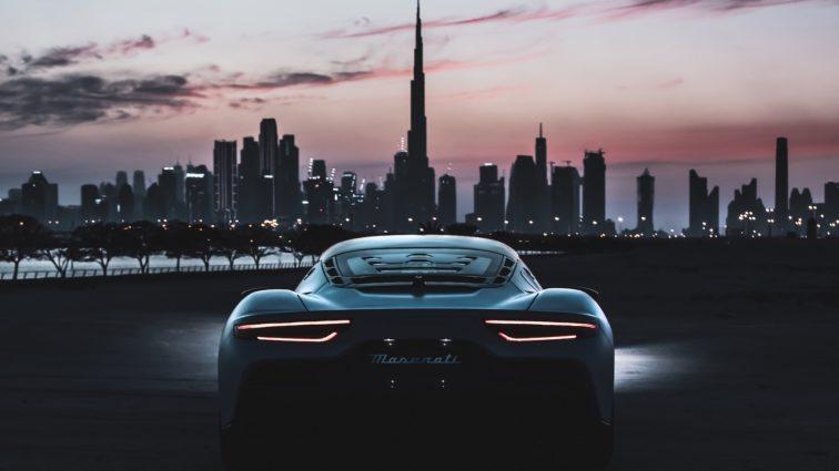 Maserati auf der Weltausstellung Expo 2020 Dubai