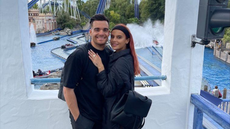 Stefano Zarrella und Romina Palm im Europa-Park